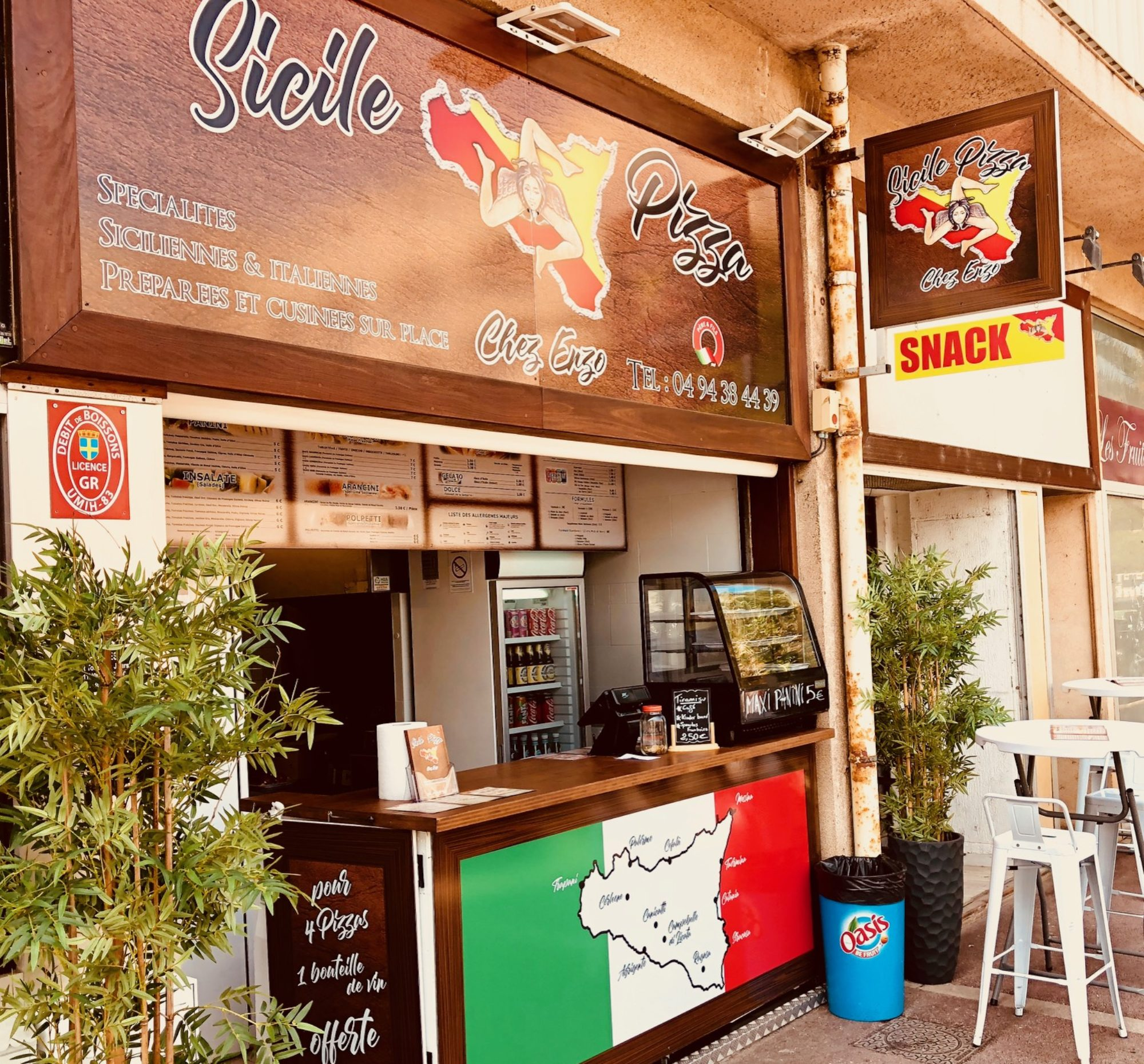 Sicile Pizza - Chez Enzo